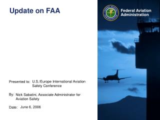 update on faa