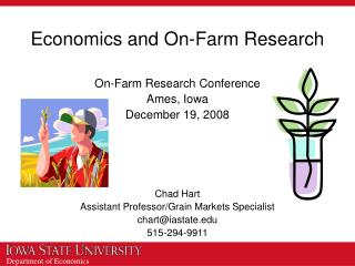 Economics and On-Farm Research