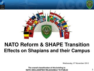 NATO Reform  SHAPE Transition Effects on Shapians and their Campus