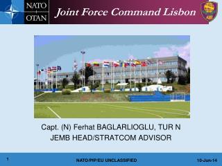 Capt. N Ferhat BAGLARLIOGLU, TUR N JEMB HEAD