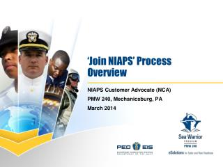 Join NIAPS  Process Overview