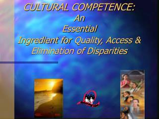 cultural competence: an essential ingredient for quality ...