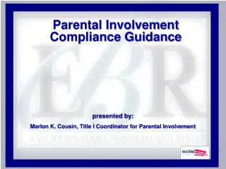 Parental Involvement Compliance Guidance