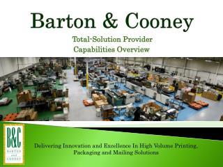 Barton  Cooney