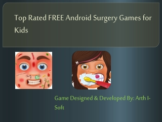 Top Rated FREE Android Surgery Games for Kids