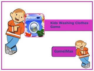Kids Washing Clothes Game