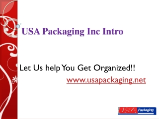 USA Packaging Introduction
