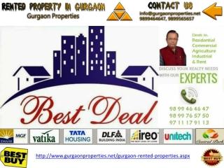 Rented Properties In Gurgaon