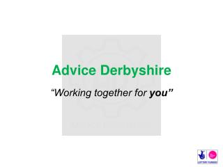 Advice Derbyshire