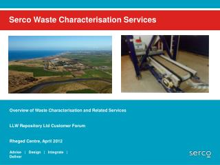 Serco Waste Characterisation Services