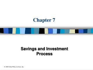 Savings and Investment Process