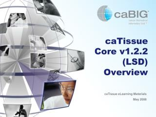 CaTissue Core v1.2.2 LSD Overview