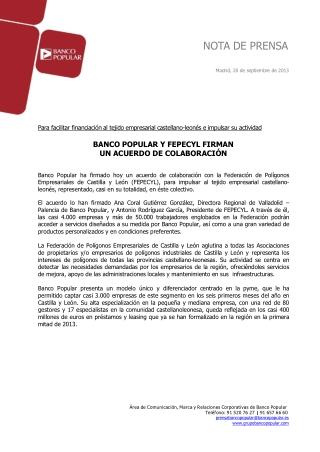 Ángel Ron firma un acuerdo de colaboración con FEPECYL