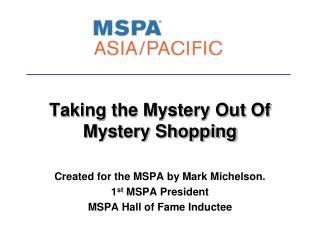 Taking the Mystery Out Of Mystery Shopping