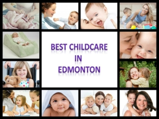 Best Edmonton Childcare