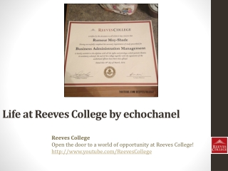 Life at Reeves College on Instagram by echochanel in Alberta