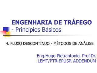 ENGENHARIA DE TR FEGO - Princ pios B sicos