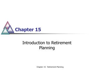 Introduction to Retirement Planning