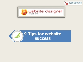 9 Tips for website success