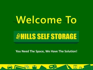 Self Storage Facilities at Castle Hill, Galston