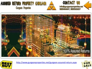 Assured Return Properties Gurgaon