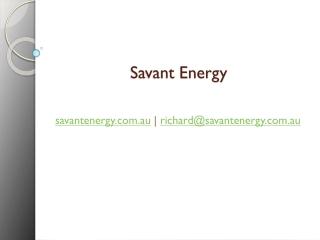 Savant Energy Consultants Australia
