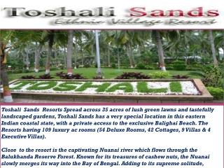 Hotel Toshali Sands Puri