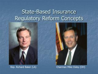 State-Based Insurance Regulatory Reform Concepts