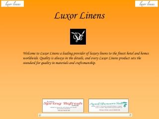 Luxor Linens Reviews - April Shower Sale