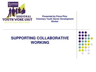 Presented by Fiona Phur Voluntary Youth Sector Development Worker