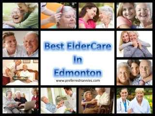 Best Edmonton Elder Care