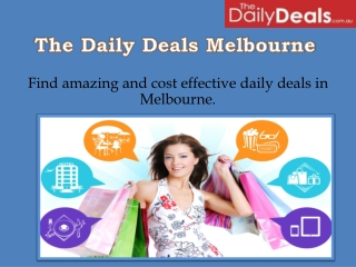 Shopping Deals Melbourne