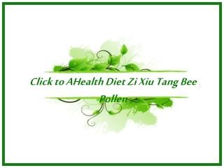 Health Diet Zi Xiu Tang Bee Pollen Diet Capsules