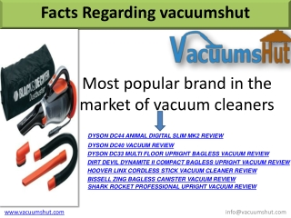 Compare Top Vacuum Cleaners