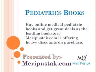 Pediatrics Books Price
