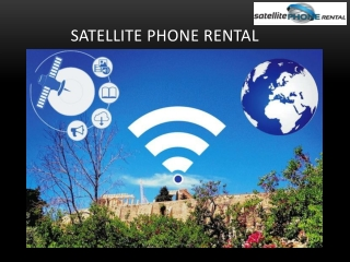 Finding The Best Quality Satellite Phone Rental