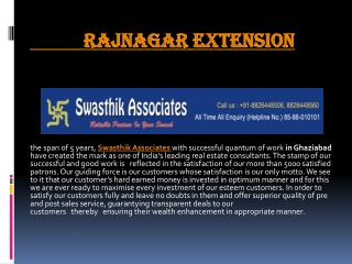 raj nagar extension projects