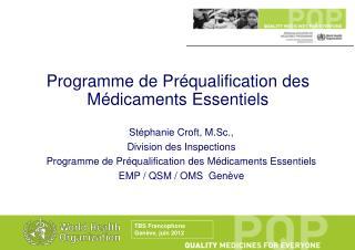 TBS Francophone  Gen ve, juin 2012