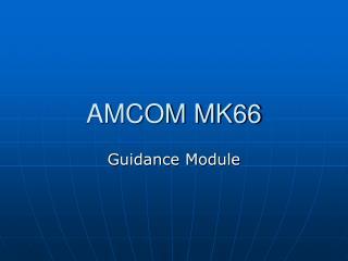 amcom mk66