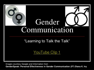 gender roles and non-verbal communication