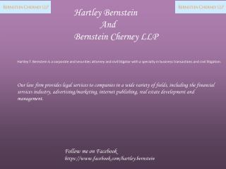 Hartley T. Bernstein