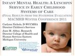 infant mental health: a lynchpin service in early childhood ...
