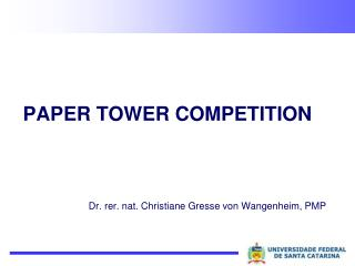 Paper Tower Competition