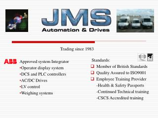 jms automation  drives