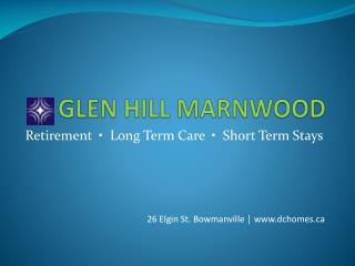 GLEN HILL MARNWOOD