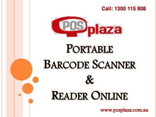 Portable Barcode Scanner and Reader Online