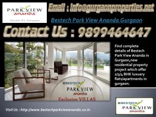 Bestech Park View Ananda Gurgaon