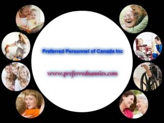 Best nannies services provider in edmonton