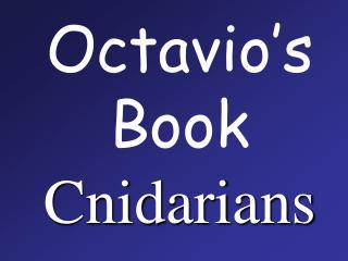 Octavio s Book Cnidarians