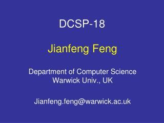DCSP-18
